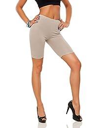 e3635cad06a1 FUTURO FASHION Cotton Leggings 1 2 Length Over-Knee Shorts Active Sport Casual  Pants
