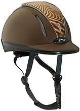 Pfiff 30014 Smart Casque d'équitation de sécurité léger réglable en continu Marron/Marron Clair 48-53 cm