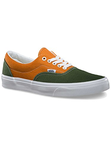 Vans U Era, Baskets mode mixte adulte Bronze Green/Gold