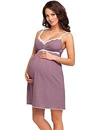 Be Mammy Camisón de Maternidad de las Mujeres Dolly