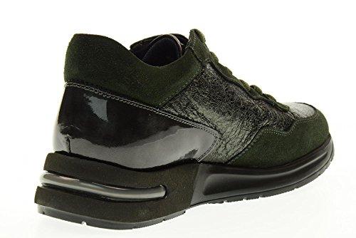 CALLAGHAN scarpe donna sneakers basse 92156.6 Verde scuro Antracite