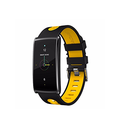 Braccialetto intelligente, inseguitore di fitness attività impermeabile misuratore di frequenza cardiaca per l'ossigeno della polso fascia sportiva smartwatch per ios android