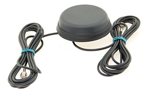Alda PQ Antenne zur Dachmontage für 2G (GSM), 3G (UMTS), GPS, GLONASS, Wifi/Bluetooth mit SMA/M Stecker und 2,5m Kabel 2,2 dBi Gewinn Bluetooth Gps-antenne