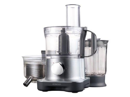 Kenwood FPM 270 - Procesador de alimentos compacto y juego de accesorios, color gris