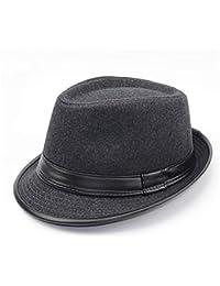 Amazon.es  Bombin negro - Sombreros Panamá   Sombreros y gorras  Ropa 1a7118f9e9f