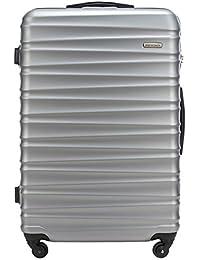 Bagaglio a mano grande medio piccolo antigraffo valigia   Materiale: ABS   Peso: 2,6-4,1 kg   Capacità: 34-96L