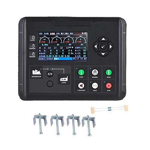 Generator Control Module, DC70D 4,3 Zoll LCD Display Generator Set Controller für Diesel Generator, Verschiedene Arten von Motor durch Selbsteinstellung -