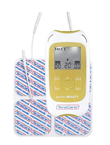 TensCare - Stimolatore muscolare Perfect Beauty-per la tonificazione del corpo e la riduzione delle rughe