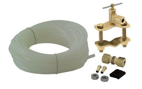 Universal Polyethylene Tubing Ice Maker / Humidifier Installation Kit, ¼ X 25' Easy to Install, by Unvert USA (Ice Aqua Maker)