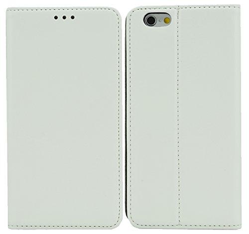 """IPhone 6 (4.7 """")-premium-étui de protection avec fonction support Blanc"""