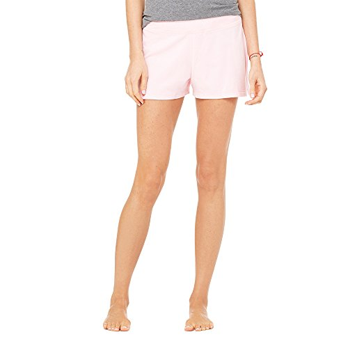 Fitness Shorts mit Elasthan Spandex in verschiedenen Farben Gr. S-XL von noTrash2003 Pink