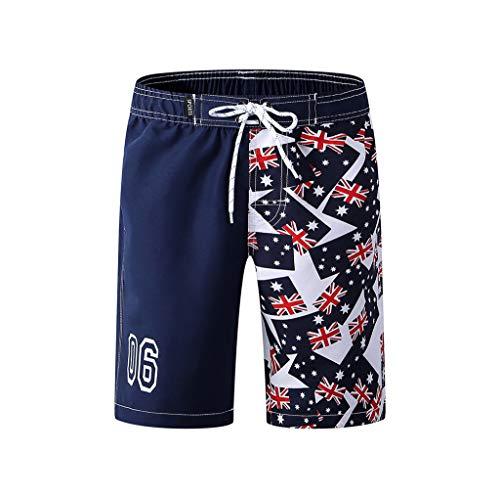 JERFER Shorts Kinder Jungs Badehose Badebekleidung Vereinigte Staaten von Amerika Kurze Hose