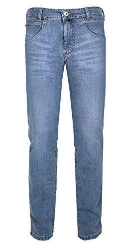 Joker Jeans Hose Freddy Jeanshose light blue Stretch (W38/L30)