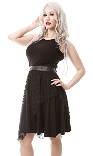 Poizen Industries -  Vestito  - Donna nero M