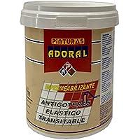 ADORAL - Pintura tela asfáltica líquida 750 ml. Rojo