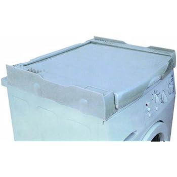 wpro skp101 waschmaschinenzubeh r verbindungsrahmen mit ablage und w scheleine waschmaschine und. Black Bedroom Furniture Sets. Home Design Ideas