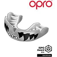 Opro Power-Fit Attacco - Mascelle - Argento/Bianco