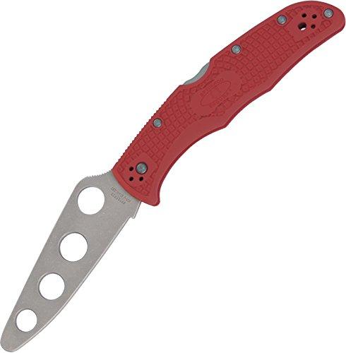 Spyderco C10TR Couteau Endura Trainer pour Entrainement Lame à Trous