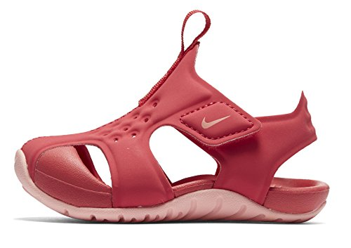 Nike Unisex-Kinder Sunray Protect 2 (TD) Sport Sandalen, Mehrfarbig (Tropical Pink/Bleach 600), 25 EU
