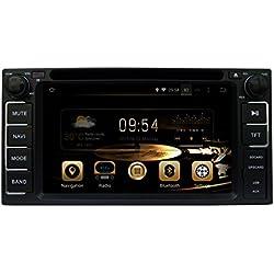TOPNAVI 6.2inch Capacitive Touch Screen 800*480 Android 5.1.1 Car stereo Navigation for TOYOTA RAV4 /FJ CRUISER/ALPHARD/VIOS/YARIS /CAMRY /COROLLA/LAND CRUISER /HIGHLANDER/FORTUNER/HIACE/CELICA/TUNDRA/HILUX/INNOVA/IELAS/PREVIA GL/Terios 2006-2012/Echo 1998-2005/VIZI 1998-2005/Vitz 1998-2005/Soluna Vios 2003-2007 car GPS Wifi Bluetooth Radio 1.6 GB CPU Rockchip RK3188 Cortex A9 DDR3 3G car video audio Phonebook RDS AUX Mirror Link 16GB Quad Core