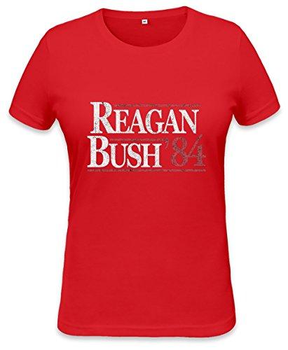 Vintage Reagan Bush Womens T-shirt XX-Large (Reagan-bush-tank-top)