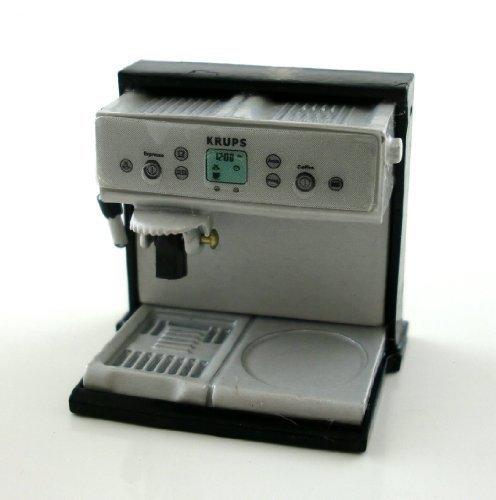 Puppenhaus 1:12 Maßstab Miniatur Café Küchenzubehör Espresso Kaffeemaschine