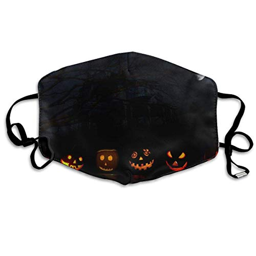 Anti Dust Face Mouth Cover Mask Happy Halloween Pumpkin Anti Pollution Breath Healthy Mask