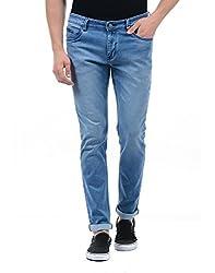 Monte Carlo Mens Straight Fit Jeans (2180870092DN-1-34_Dark Blue)