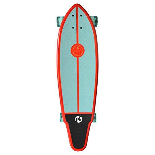 """Kryptonics 34"""" Longboard - Swallow Tail """"Swells"""" - California Series"""