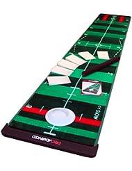 Pro Advanced Pro Infinity - Alfombra de práctica para golf, color verde