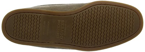 Sebago Beacon Shearling, Chaussures Bateau Homme Gris (Dk Taupe Suede)