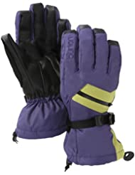 Burton Baker–Guantes de snowboard, color mulberry/grass stain, tamaño S