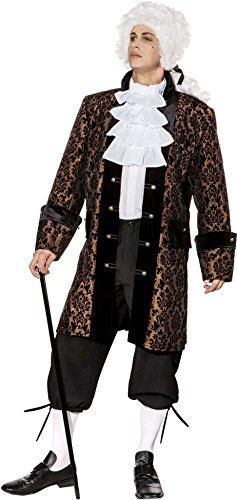 Orlob Herren Kostüm Barock Baron TAFT Jacke Karneval Fasching Gr.54/56 -
