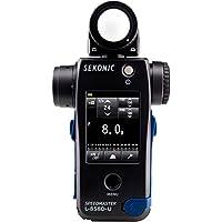 Le Sekonic Speedmaster L-858D est le posemètre idéal pour les photographes (semi-)professionnels qui veulent un contrôle ultime sur leur lumière. Avec ce posemètre, vous pouvez mesurer la durée d'un flash de 200 millièmes de seconde. Vous pouvez égal...