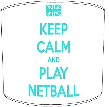 Stampa netball paralume da soffitto, 20,3 cm 10, metallo cm Carta, bianca, 30,5 cm metallo c52b89
