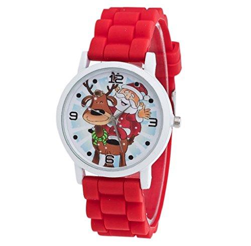 regalos-de-navidadtongshi-ninos-color-de-la-manera-del-reloj-del-silicon-reloj-de-la-correa-rojo