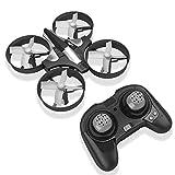RCtown Mini-Drohne, 2,4 GHz, 4 Kanäle, Mini-UFO-Quadrocopter, Drohne mit 6-Achsen-Gyro-Kopf-Modus, Fernbedienung, Nano-Quadcopter