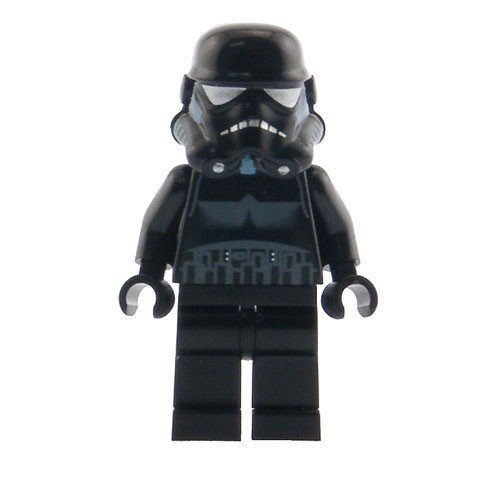 LEGO Star Wars Minifigur - Shadow Trooper unverklebt (Ewok Minifiguren Lego)