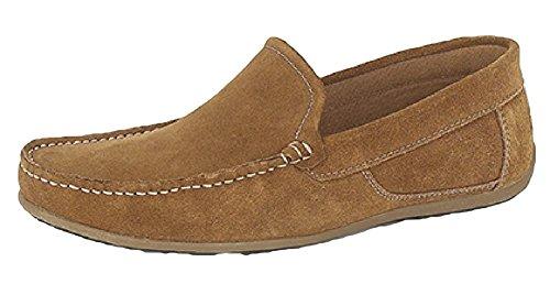 Roamer , Chaussures bateau pour homme Beige - Sable