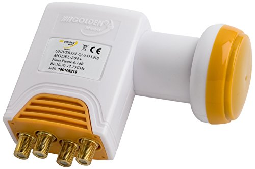 Golden Media Quad LNB 204 +