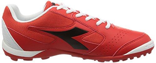 Diadora Herren Quinto6 Tf Fußballschuhe Rosso (Rosso/Nero/Bianco)