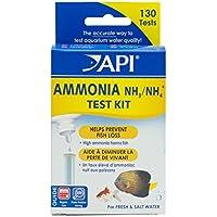 API AMMONIA 130-Test Freshwater and Saltwater Aquarium Water Test Kit