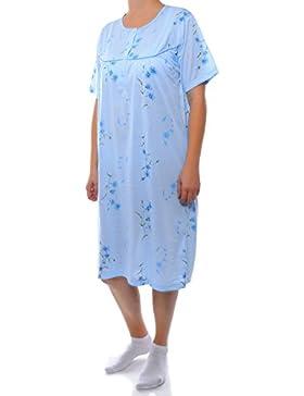 BEZLIT Damen Kurzarm Nachthemd Pyjama Kleid Schafshirt 21666