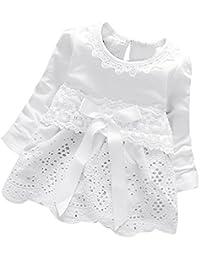 K-youth Vestidos para Niñas Bebes Ropa Bebe Niña Recien Nacido Vestido Bebe Niña Invierno