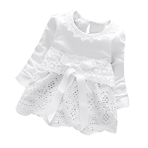 c59630d39 K-youth Vestidos para Niñas Bebes Ropa Bebe Niña Recien Nacido ...