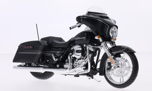 2015-harley-davidson-street-glide-black-motorcycle-model-1-12-by-maisto-32328-by-harley-davidson