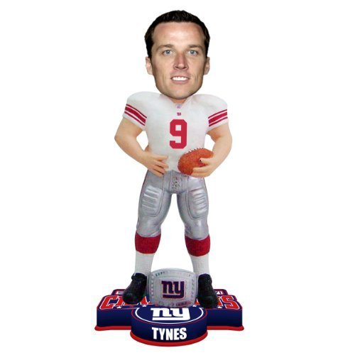 NFL New York Giants Super Bowl XLVI Champions Ring Bobble, L. Tynes by Forever Collectibles (New York Giants Ring)