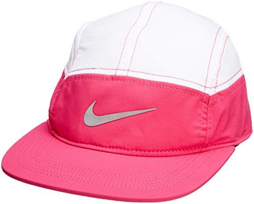 Nike W's Run Zip AW84 - Gorra para mujer, color rosa, talla única