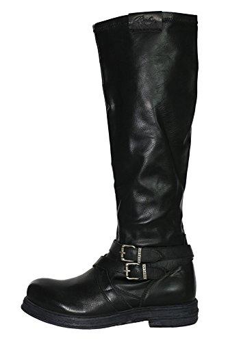 Replay Gabie Stiefel Boots Damen Schwarz
