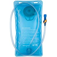 BTR Hydration Bladder Water Bag Compatible With Any Hydration Pack and Backpack.
